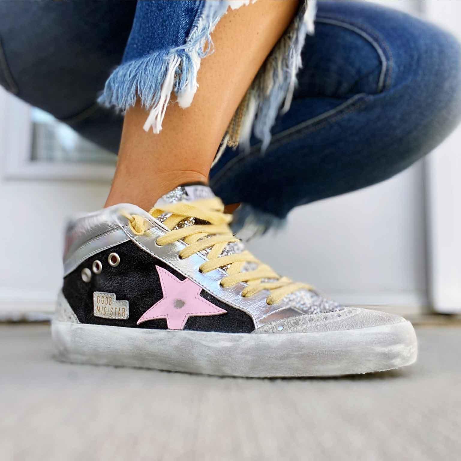 Golden Goose - Midstar Glitter High Top Sneaker