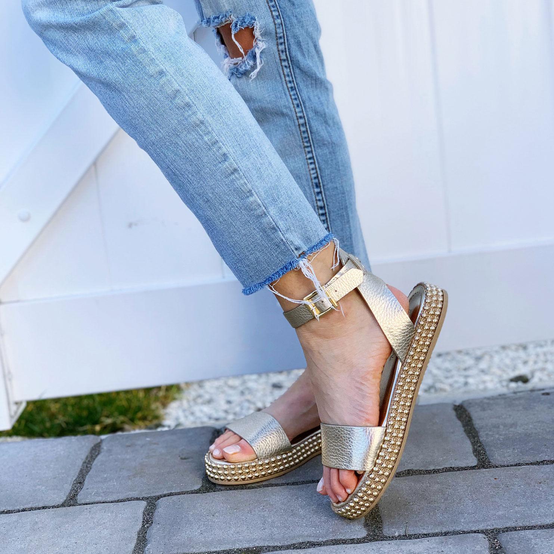 275 Cenral Panarin Leather Flatform Sandal