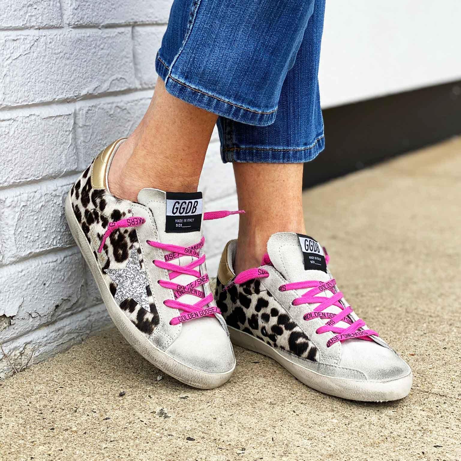 Golden Goose Superstar Leopard Sneaker